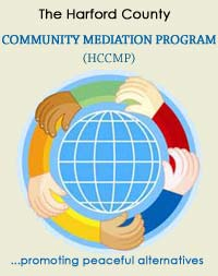 The Harford County Community Mediation Program Logo